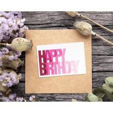 Cartões feitos sob encomenda do feliz aniversario pacote da caixa de cartões de aniversário de 48 blocos