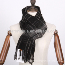 mens wool scarves in plaid