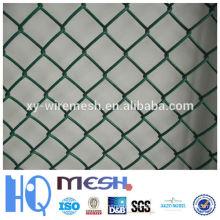 El PVC cubrió la venta caliente de la cerca de acoplamiento de cadena en el cartón justo (fábrica)