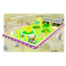 Children Adventure Wooden Soft Indoor Playground Entertainment Equipments
