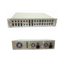 16 Slots Zentrales Manageable Media Converter Chassis