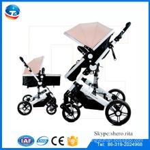 CE aprovado alemanha carrinho de bebê pram / baby boneca pram carrinho de bebê por atacado / luxuoso pram mão muff