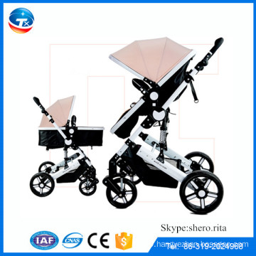 CE approved germany baby stroller pram/baby doll pram stroller wholesale/luxury baby pram hand muff