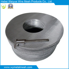 High Mesh Stainless Steel Wire Mesh for Filter Disc