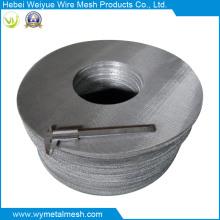 Malha de arame de aço inoxidável de malha alta para disco de filtro