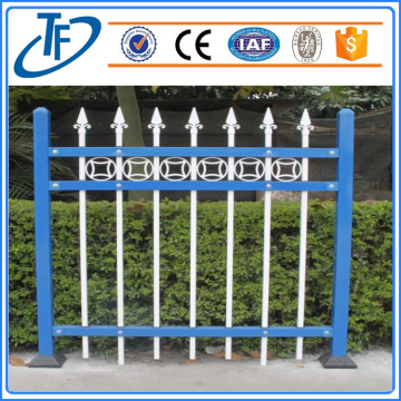 Easily Assembled cheap garrison steel picket fencing