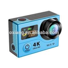 novo produto controle remoto esporte câmera / wifi esporte câmera / esporte câmera com 4K fez polegadas