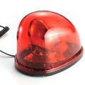 Sinal de advertência de lâmpada de halogênio de LED (HL-102 vermelho)