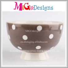 Großhandel kreative Steinzeug Schüssel mit Verglasung