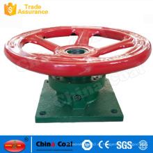 QL-2 20KN force handwheel weir gate polipasto