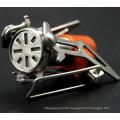 Folding mini gas hiking stove