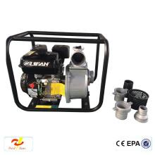 Lavadora de alta presión de la gasolina de la exportación de la máquina de la niebla 3kw bomba de agua de 6 pulgadas