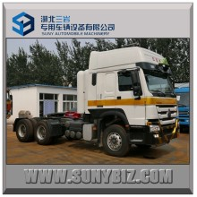 HOWO 6X4 380HP CNG Engine Tractor Head Trcuk