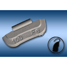 Fe Clip-on Balance Weight for Truck / Bus (B)