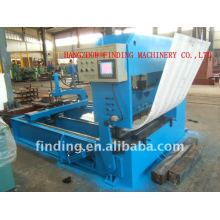 Hydraulic pressing and bending machine