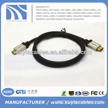 Metal verde de la astilla del metal Cable de HDMI