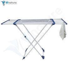 Wäscheständer mit einziehbarem Handtuchhalter