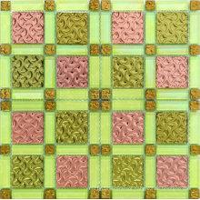Elegant Cracked Glass Mosaic Tiles in Foshan (AJ2A1608)