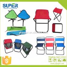Cadeira de pescaria de alta qualidade cadeira de 3 pés