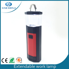 Luz de trabajo LED retráctil de 3W LED