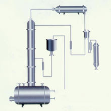 2017 T \ DT série torre de recuperação de etanol, destilação a vácuo industrial SS, projeto de torre de destilação a vácuo de álcool