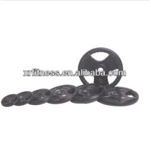 Schwarze Gummi beschichtete Platte