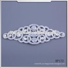 Hotfix adorno rhinestone applique bordado ajuste rhinestone bordado