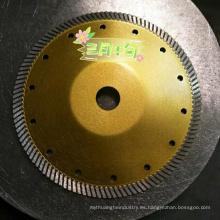 corte abrasivo de disco de amolado de hormigón