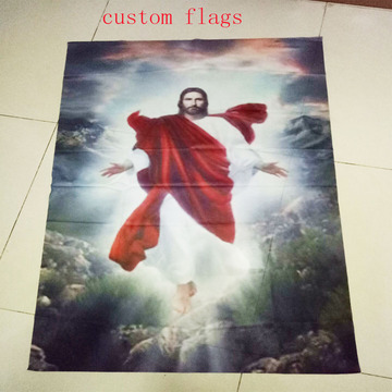 Custom Personalized Knitted Polyester Flags
