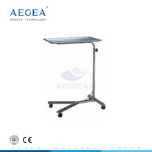 AG-SS008 hospital tray stand clinic instruments trolley with one post