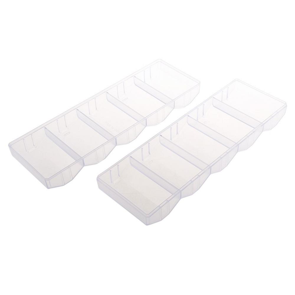 Acrylic Poker Chip Case 5 Rows