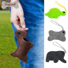 O distribuidor do animal de estimação de Poopbag do suporte dos sacos do desperdício do cão inclui os poopbags 30pcs