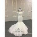 robe de mariée sirène robe ivoire luxe bling bodycon sirène robes de mariée pour les femmes