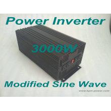 Onduleurs à puissance sinusoïdale modifiée de 3000 watts / inverseurs de puissance de voiture