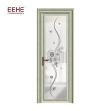 Азиатская алюминиевая дверь для интерьера алюминиевая дверь туалета алюминиевая дверь