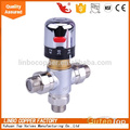 LB-Gutentop 1/2*3/4 inch High Quality Brass Piping Thermostatic Linbo Mixing Valve Control the Water Temperature Brass thermostatic mixing valve, temperature control valve