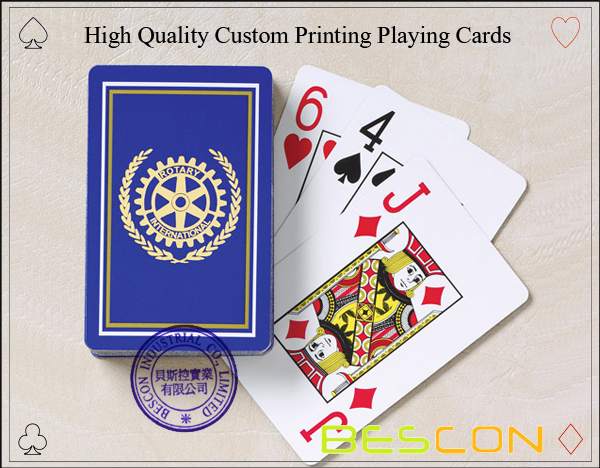 High Quality Custom Printing Playing Cards-3