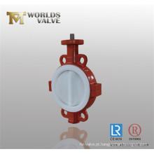 Válvula Borboleta Completa com PTFE