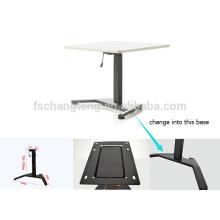 2016 pernas individuais um motor elétrico personalizável subir passo sentar a pé mesa ajustável em altura