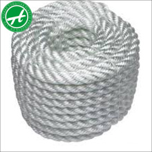 3 strands nylon twisted rope plastic rope