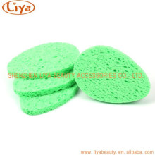 Hot Sale Powder Puff Face Cellulose sponge for clean Makeup washing
