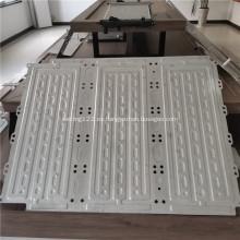 Placa de enfriamiento de agua de aluminio para Superguide