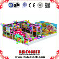 Candy Theme Soft Indoor Play Center con Sand Pit