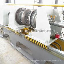 Bordes y rebordear la máquina para el tambor de acero que hace la máquina