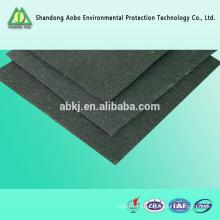 оптовая активного углеродного войлока / углеродного волокна войлок, фетр для строительной промышленности