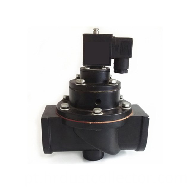 Small low pressure solenoid valve
