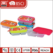2 compartment microwave safe food container