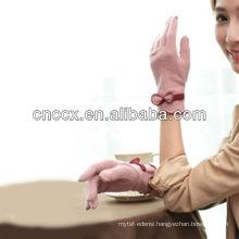 13ST1054 latest design fashion ladies warm wool gloves