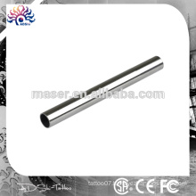 Back Stem disposable tattoo tube with stainless tips,stainless steel tattoo tubes with tips