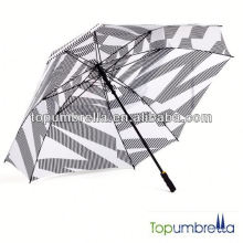 Good quality nice golf umbrella with fan